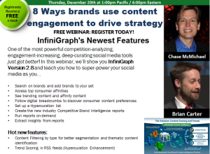 Webinar 8 Ways brands use content engagement to drive strategy - 12/20 1PST